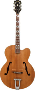 Musical Instruments:Acoustic Guitars, 1967 Gibson L-7 Natural Archtop Acoustic Guitar, Serial # 896984....