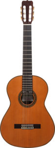 Musical Instruments:Acoustic Guitars, 2010 Jose Ramirez 125 Anos Limited Edition Natural ClassicalGuitar, Serial # 1914....