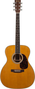 Musical Instruments:Acoustic Guitars, 2011 Martin M-36 Natural Acoustic Guitar, Serial # 1479755....