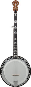 Musical Instruments:Banjos, Mandolins, & Ukes, Late 2000's Gold Tone Brown Stain 5 String Banjo, Serial # 21011507....
