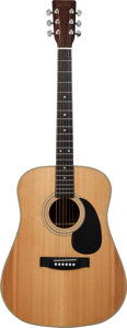 Musical Instruments:Acoustic Guitars, Late 1970's Hondo H-28 Natural Acoustic Guitar....