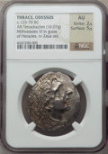 Ancients:Greek, Ancients: THRACE. Odessus. Ca. 80-72/1 BC. AR tetradrachm (16.07gm)....