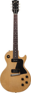 Musical Instruments:Electric Guitars, 1956 Gibson Les Paul Special TV Yellow Solid Body Electric Guitar,Serial # 613567....