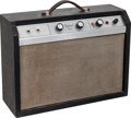 Musical Instruments:Amplifiers, PA, & Effects, 1960's Gibson Skylark Black Guitar Amplifier....