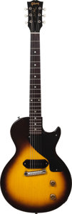 Musical Instruments:Electric Guitars, 1955 Gibson Les Paul Junior Sunburst Solid Body Electric Guitar, Serial # 5 6863....