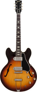 Musical Instruments:Electric Guitars, 1964 Gibson ES-330 Sunburst Semi-Hollow Body Electric Guitar,#177879....