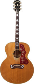 Musical Instruments:Acoustic Guitars, 1968 Gibson J-200 Natural Acoustic Guitar, Serial # 893318....