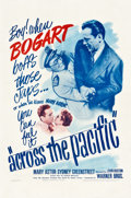 """Movie Posters:War, Across the Pacific (Warner Brothers, 1942). One Sheet (27"""" X 41"""")....."""