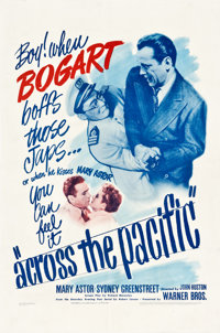 """Across the Pacific (Warner Brothers, 1942). One Sheet (27"""" X 41"""")"""