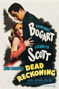 "Movie Posters:Film Noir, Dead Reckoning (Columbia, 1947). One Sheet (27"" X 41"") Style B....."
