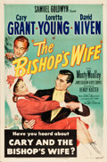 "Movie Posters:Comedy, The Bishop's Wife (RKO, 1948). One Sheet (27"" X 41"").. ..."