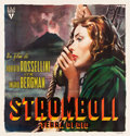 "Movie Posters:Drama, Stromboli (RKO, 1950). Italian 6 sheet (77"" X 79.5"") AverardoCiriello Artwork.. ..."