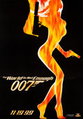 "Movie Posters:James Bond, The World is Not Enough (MGM, 1999). Poster (52"" X 74"") SpecialAdvance Style.. ..."
