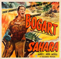 "Movie Posters:War, Sahara (Columbia, 1943). Six Sheet (79.5"" X 81"").. ..."