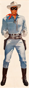 "Movie Posters:Western, The Lone Ranger Wheaties Poster (General Mills, 1957). Poster (25"" X 75"").. ..."