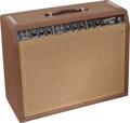 Musical Instruments:Amplifiers, PA, & Effects, Circa 1961 Fender Vibrolux Brown Guitar Amplifier, Serial #01244....