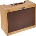 Musical Instruments:Amplifiers, PA, & Effects, 1959 Fender Vibrolux Tweed Guitar Amplifier, Serial # F02421....