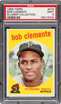 Baseball Cards:Singles (1950-1959), 1959 Topps Roberto Clemente #478 PSA Mint 9 - None Higher....