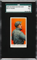 Baseball Cards:Singles (Pre-1930), 1909 E92 Dockman & Sons Cy Young SGC 86 NM+ 7.5 - Pop One, OneHigher....