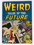 Golden Age (1938-1955):Horror, Weird Tales of the Future #1 (Aragon, 1952) Condition: VG/FN....