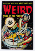 Golden Age (1938-1955):Horror, Weird Tales of the Future #6 (Aragon, 1953) Condition: FN-....