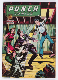 Punch Comics #18 (Chesler, 1946) Condition: VF-