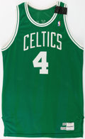 Basketball Collectibles:Uniforms, 1989 Jim Paxson Game Worn Boston Celtics Jersey and Shorts. ...