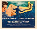"Movie Posters:Hitchcock, To Catch a Thief (Paramount, 1955). Half Sheet (22"" X 28"") Style A.. ..."