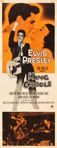 """Movie Posters:Elvis Presley, King Creole (Paramount, 1958). Insert (14"""" X 36"""").. ..."""
