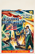 "Movie Posters:Science Fiction, The War of the Worlds (Paramount, 1953). Belgian (14.5"" X 21.75"")....."