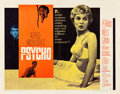 "Movie Posters:Hitchcock, Psycho (Paramount, 1960). Half Sheet (22"" X 28"") Style A.. ..."