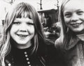 Photographs:Gelatin Silver, Gerard Fieret (Dutch, 1924-2009). Untitled (Two Smiling Girls), circa 1972. Gelatin silver. 9-3/8 x 12 inches (23.8 x 30...
