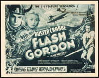 "Flash Gordon (Universal, 1936). Title Lobby Card (11"" X 14"")"