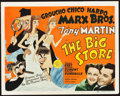"Movie Posters:Comedy, The Big Store (MGM, 1941). Title Lobby Card (11"" X 14"").. ..."