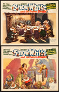 "Movie Posters:Animation, Snow White and the Seven Dwarfs (RKO, 1937). Lobby Cards (2) (11"" X14"").. ... (Total: 2 Items)"