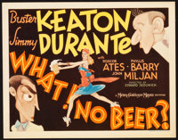 """What! No Beer? (MGM, 1933). Title Lobby Card (11"""" X 14"""")"""