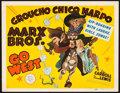 """Movie Posters:Comedy, Go West (MGM, 1940). Title Lobby Card (11"""" X 14"""").. ..."""