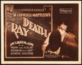 "Movie Posters:Documentary, Death Ray (Pathé, 1924). Title Lobby Card (11"" X 14"").. ..."