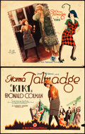 """Movie Posters:Comedy, Kiki (First National, 1926). Title Lobby Card & Lobby Card (11""""X 14"""").. ... (Total: 2 Items)"""