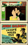 """Movie Posters:Drama, Twelve Miles Out (MGM, 1927). Title Lobby Card & Lobby Card(11"""" X 14"""").. ... (Total: 2 Items)"""