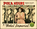 "Movie Posters:War, Hotel Imperial (Paramount, 1927). Lobby Card (11"" X 14"").. ..."