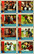 """Movie Posters:Horror, I Was a Teenage Werewolf (American International, 1957). Lobby Card Set of 8 (11"""" X 14"""").. ... (Total: 8 Items)"""