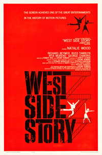 """West Side Story (United Artists, 1961). One Sheet (27"""" X 41"""")"""