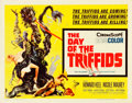 "Movie Posters:Science Fiction, The Day of the Triffids (Allied Artists, 1962). Half Sheet (22"" X28"").. ..."