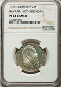 German States:Bavaria, German States: Bavaria. Otto Proof 2 Mark 1911-D PR64 Cameo NGC,...