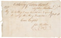 Autographs:Statesmen, [Connecticut Currency]. John Hallam Invoices the Colony ofConnecticut for Engraving the Plate Used to Print their CurrencyNo...