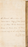 Miscellaneous, Ship's Log for the Buenos Ayres Brig of War Republica Keptby Louis Goodwin for the period November 1817 through J...