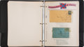 Miscellaneous, [Confederate Stamp Collection]. H. A. Tuthill, Confederate States of America Printed Album Pages ...