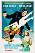 """Movie Posters:Foreign, Assassination in Rome (MGM, 1968). First U.S. Release One Sheet (27"""" X 41""""). Foreign.. ..."""