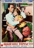 "Movie Posters:Drama, Some Came Running (MGM, 1959). Italian Photobusta (18.75"" X 26.5). Drama.. ..."